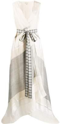 Rahul Mishra draped tie front dress