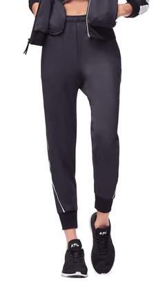 Good American Piped Jogger Pants