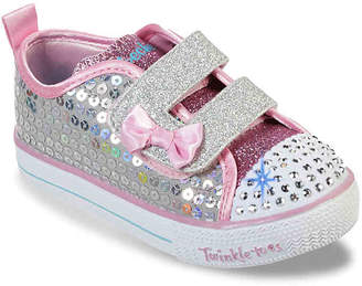 471036e18b92e Skechers Twinkle Toes Shuffle Lite Mini Mermaid Toddler Light-Up Sneaker -  Girl's