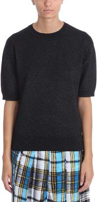 Marc Jacobs Black Lurex Sweater