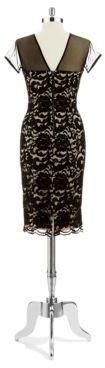 Maggy London Lace Shift Dress