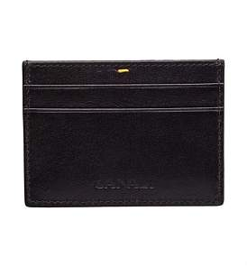 Canali Leather Credit Card Holder