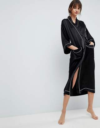 Asos 100% Silk Dressing Gown