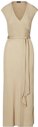 Polo Ralph Lauren Jersey Wrap Dress $245 thestylecure.com