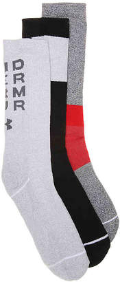 Under Armour Phenom 4.0 Crew Socks - 3 Pack - Men's