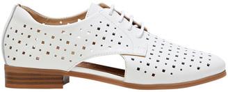 Hush Puppies Fiji White Flat Shoe