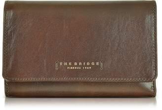 The Bridge Passpartout Donna Dark Brown Leather Women's Wallet