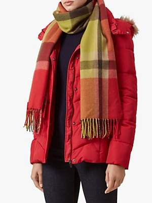 Gwen Puffer Coat, Red