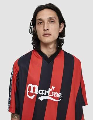 Martine Rose S/S Twist Football T-Shirt