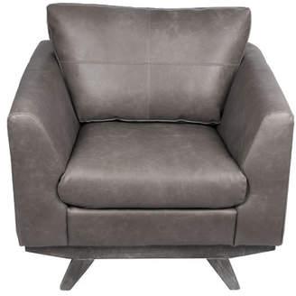 Joseph Allen Leather Reception Guest Chair