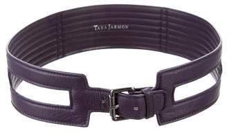 Tara Jarmon Leather Waist Belt