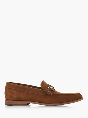 Dune Baritone Suede Loafers