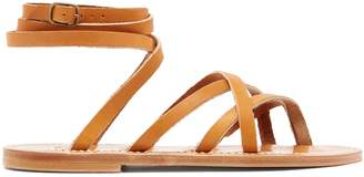 K. Jacques Zenobie leather sandals