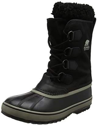 Sorel Men's 1964 Pac Nylon Boots, Black (Tusk), UK 10