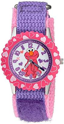 EWatchFactory Girl's 'Sesame Street' Quartz Stainless Steel and Nylon Watch