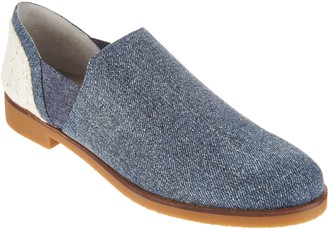 Logo By Lori Goldstein Lori Goldstein Collection Low Ankle Slip-On with Elastic Goring