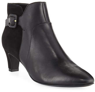 Cole Haan Sylvia Grand Waterproof Leather/Suede Booties