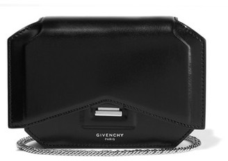 Givenchy - Bow Cut Shoulder Bag In Black Leather $1,390 thestylecure.com