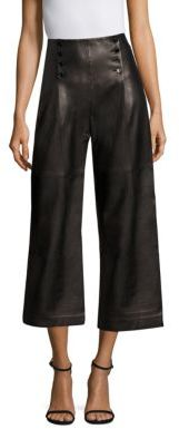 Polo Ralph Lauren Leather Sailor Pants $998 thestylecure.com