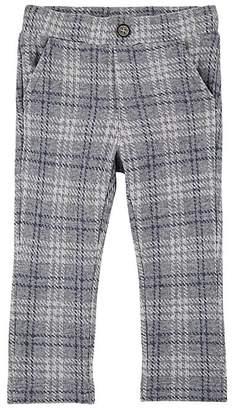 Officina51 Infants' Checked Cotton-Blend Fleece Leggings