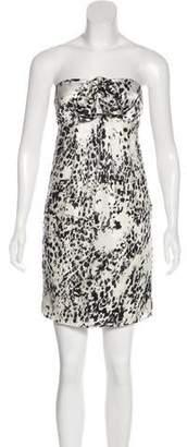Twelfth Street By Cynthia Vincent Silk Printed Dress