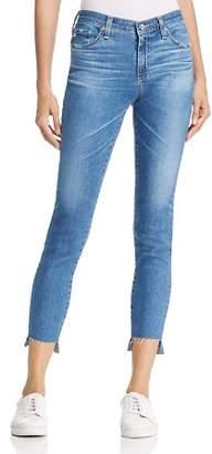 AG Jeans Ankle Step-Hem Legging Jeans in 14 Years Blue Nile