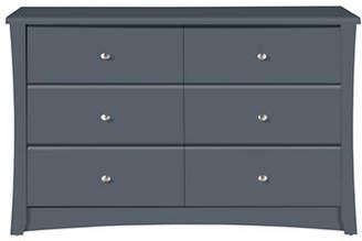 Stork Craft Storkcraft Crescent Six-Drawer Dresser