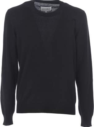 Maison Margiela Elbow Patch Sweater