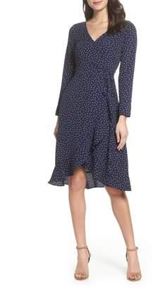 Chelsea28 Print Wrap Dress