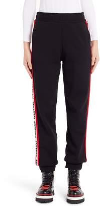 MSGM Intarsia Logo Track Pants