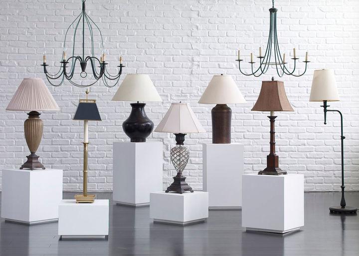 Ethan Allen Cimarron Metal Table Lamp
