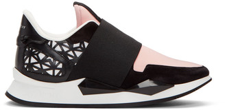 Givenchy Pink Runner Slip-On Sneakers $695 thestylecure.com