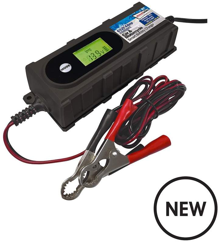 Streetwize Accessories 4 Amp 612V Smart Battery Charger