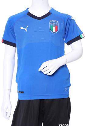 Puma (プーマ) - プーマ PUMA サッカー フットサル ライセンスシャツ FIGC ITALIA キッズ ホーム レプリカ SS 752284
