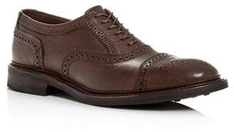 Allen Edmonds Men's Strandmok Brogue Leather Cap-Toe Oxfords
