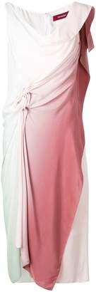 Sies Marjan draped gradient dress