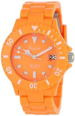 Freelook Women's HA1431-3 Sea Diver Neon Orange Watch