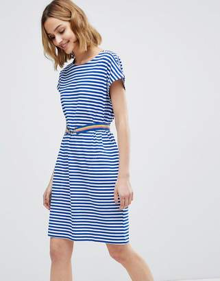 MiH Jeans Boater Striped Dress with Belt
