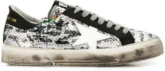 Golden Goose Superstar sequinned sneakers