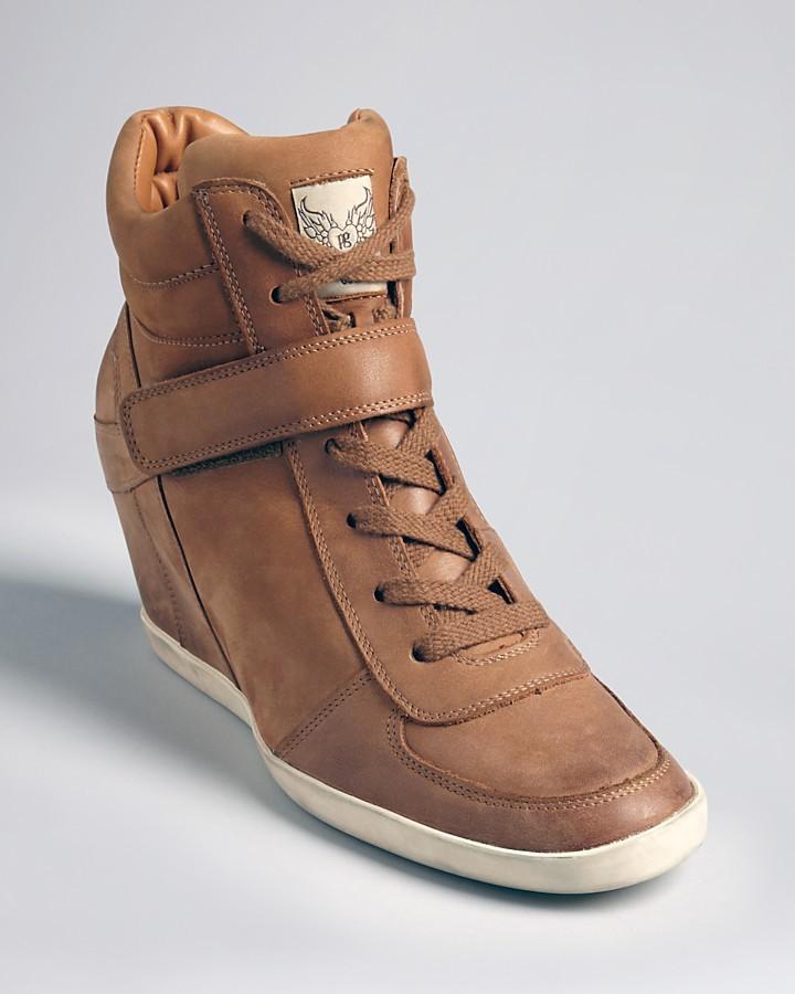 Paul Green High Top Wedge Sneakers - Ozzie