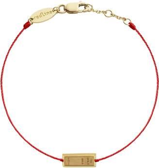 Redline Lingot Red Bracelet - Yellow Gold
