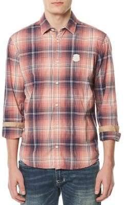 Buffalo David Bitton Plaid Button-Down Shirt