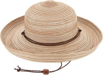 Co San Diego Hat Mixed Braid Kettle Brim Sun Hat