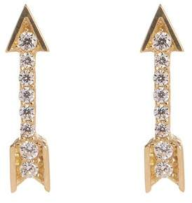 Free Shipping 100 At Nordstrom Rack Candela 14k Yellow Gold Cz Arrow Stud Earrings