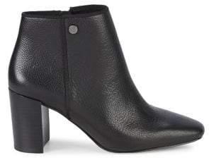 Karl Lagerfeld Paris Ramma Leather Booties