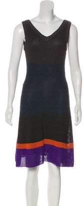 Missoni Knee-Length Mesh Dress