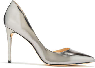 Rachel Zoe London Gunmetal Specchio dOrsay Pumps