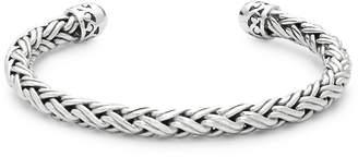 Lois Hill Women's Sterling Silver Cord Cuff Bracelet