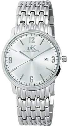Adee Kaye Women's AK24-L/CR Analog Display Japanese Quartz Silver Watch