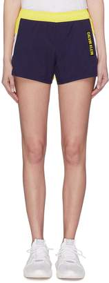 Calvin Klein Colourblock water-repellent running shorts